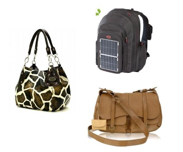 Full-size backpack, messenger bag, large tote